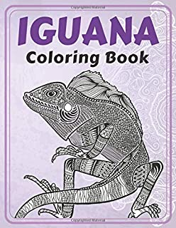 Iguana - Coloring Book 🦎
