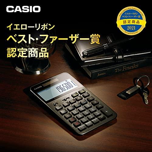 『カシオ CASIO プレミアム電卓 12桁 ブラック S100』の2枚目の画像