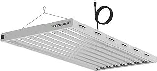 VIVOSUN 6500K 4FT T5 HO Fluorescent Grow Light Fixture for Indoor Plants, UL Listed High Output Fluorescent Tubes, 8 Lamps