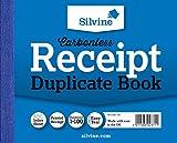 Silvine 385106043 - Libro contable, 720 sin carbón 1-100 páginas numeradas, 50 hojas...