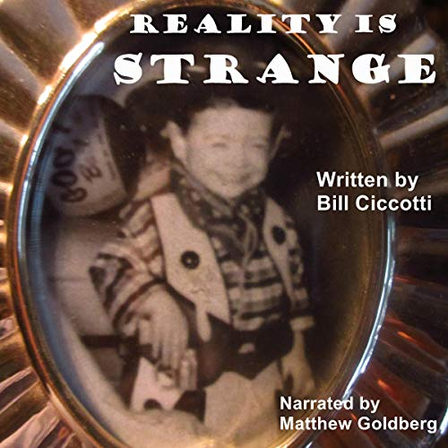 Reality Is Strange audiobook cover art