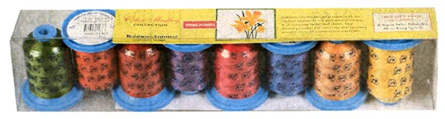 Robison-Anton Spring Flowers Thread Set, Assorted