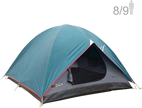 NTK Cherokee GT 8 to 9 Person 10 by 12 Foot Sport Camping Dome Tent 100% Waterproof 2500mm 3 Seasons by NTK