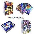 Sinwind 100 Piezas Pokemon Cartas, Tarjetas de Pokemon, Pokemon Trading Cards, Juego de Cartas, Cartas Coleccionables, Trainer Cartas, Cartas Pokémon Game Battle Card, Regalos para niños (95GX+5MEGA) de Sinwind