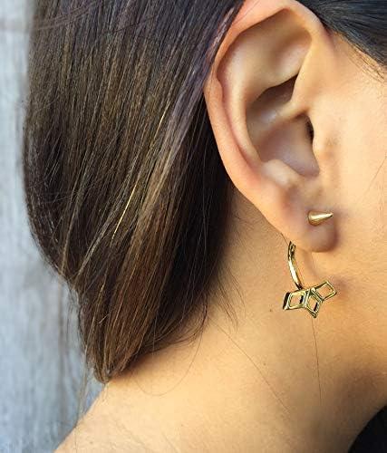 Starburst Silver Ear Jackets- Sun Jewelry Star Jacket Sales for sale New popularity