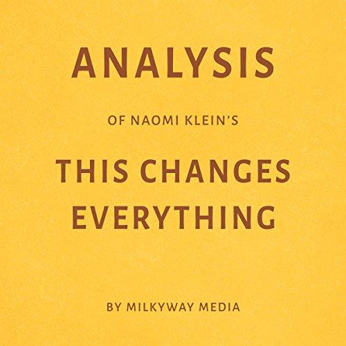 Analysis of Naomi Klein's This Changes Everything Titelbild