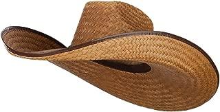 Oversized Western 7 Inch Brim Hat
