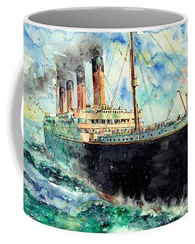 Lplpol RMS Titanic White Star Line Schiff Kaffee Tee Tasse 325 ml