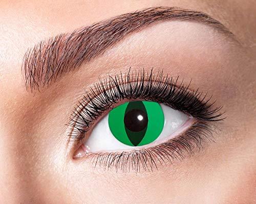 Eyecatcher Motivlinsen - farbige 3-Monats-Kontaktlinsen - anaconda m08