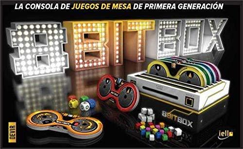 Devir 8Bit Box - Juego Videoconsola de Tablero, Castellano, Multicolor
