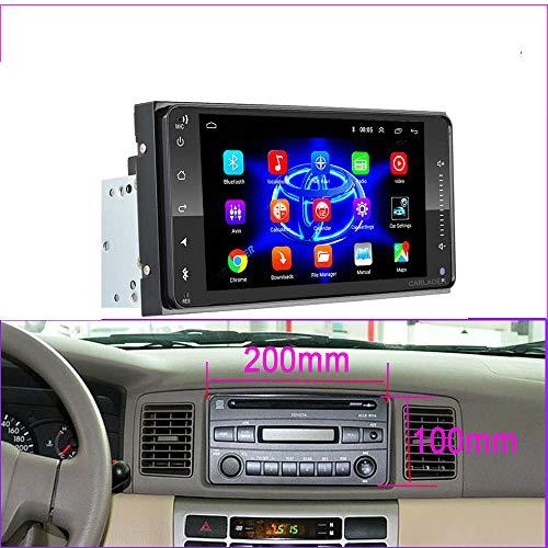 Wven Autoradio Dash Radio 2Din Android 8.1 Autoradio Multimedia Player Für Toyo-TA Corolla E140 / 150 2000-2007 2DIN Or Old RAV4,200x100mm 1g 16g