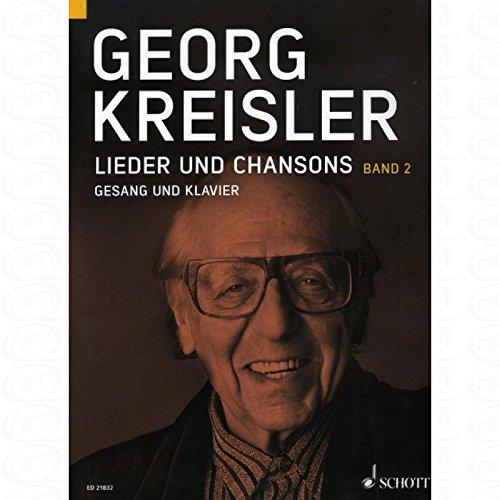 liedjes en Chansons 2 - gearrangeerd voor zang en andere bezetting - Piano [Noten/Sheetmusic] Componist : KREISLER GEORG