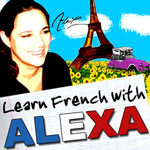 Alexa Polidoro's Bitesize French Lessons audiobook cover art