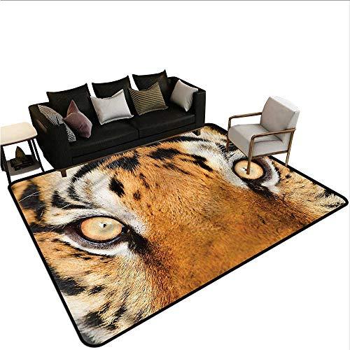 Safari,Kitchen Mat 80'x 120' Tiger Eyes Wild Rugs for Sale