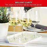 Spiegelau & Nachtmann, 4-teiliges Weißweinglas-Set, Kristallglas, 440 ml, Style, 4670182 - 6