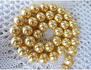 Calvas Multicolor Form Yellow South Shell Sea Pearl Loose Beads DIY Gifts for Women Girl 15