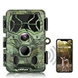 Campark 4K WiFi Trail Camera-30MP Bluetooth Hunting Game Camera with Night Vision Motion Activated...