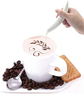 Electric Spice Pen for Latte Food Art,Decorate Food & Latte