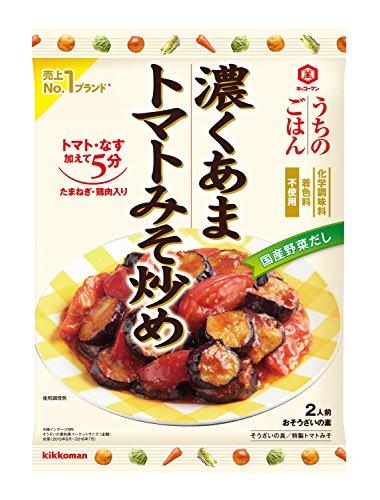 キッコーマン うちのごはん 濃くあまトマトみそ炒め 102g×5個