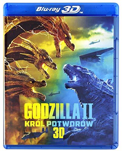 Godzilla: King of the Monsters [Blu-Ray]+[Blu-Ray 3D] [Region Free] (Audio français. Sous-titres français)