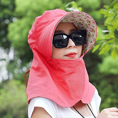 NC56 Sombrero De Ciclismo A Prueba De Sol Y Protección Solar para...