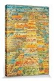1art1 Paul Klee - Hauptweg Und Nebenwege, 1929 Bilder Leinwand-Bild Auf Keilrahmen   XXL-Wandbild Poster Kunstdruck Als Leinwandbild 30 x 20 cm