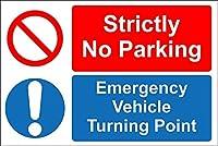駐車禁止 金属板ブリキ看板警告サイン注意サイン表示パネル情報サイン金属安全サイン