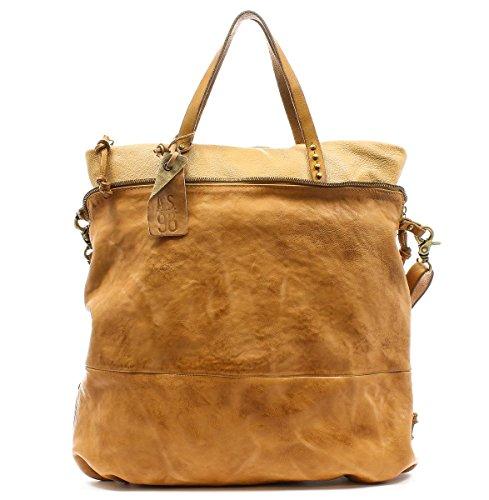 A.S.98 Handtasche 200105-204 Grano Natur Unica