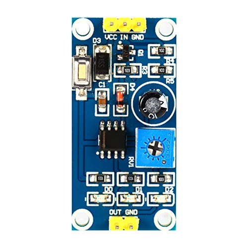 Relé de retardo 0-120 s 5-12 V temporizador módulo ajustable a bordo botón de prueba interruptor de temporizador de retardo para Arduino