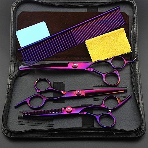 6.0 Inch Haarschneider Für Perfekten Haarschnitt Haarschere Set, Profi Haarschere Friseurschere Extra Scharf Haarschere Kinder,6InchSet