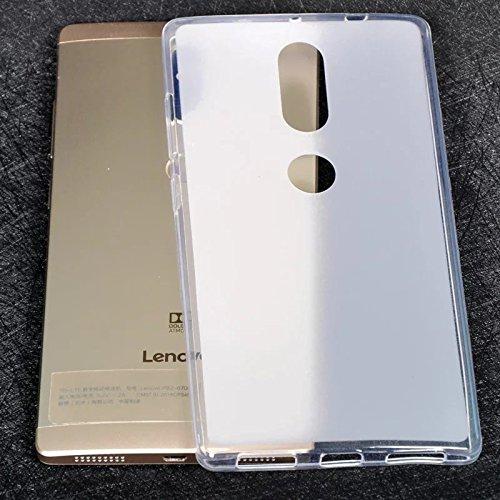 Tutoy Transluzente Ultra Dünne Weiche Silikon Hülle Für Zuk Lenovo Phab2 Plus-Weiß