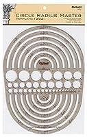 Pickett Circle Radius Master Template Circle Range Size 3/64 to 7-1/2 Inches (1202I) 【Creative Arts】 [並行輸入品]