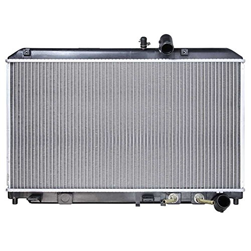 AutoShack RK1058 25.3in. Complete Radiator Replacement for 2004-2008 Mazda RX-8 1.3L