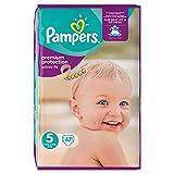 Pampers Premium Protection Active Fit - Pannolini grandi, misura 5, 47 pannolini