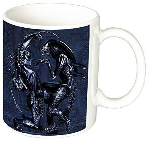 MasTazas Alien Vs Depredador Alien Vs Predator AVP Requiem II Taza Ceramica
