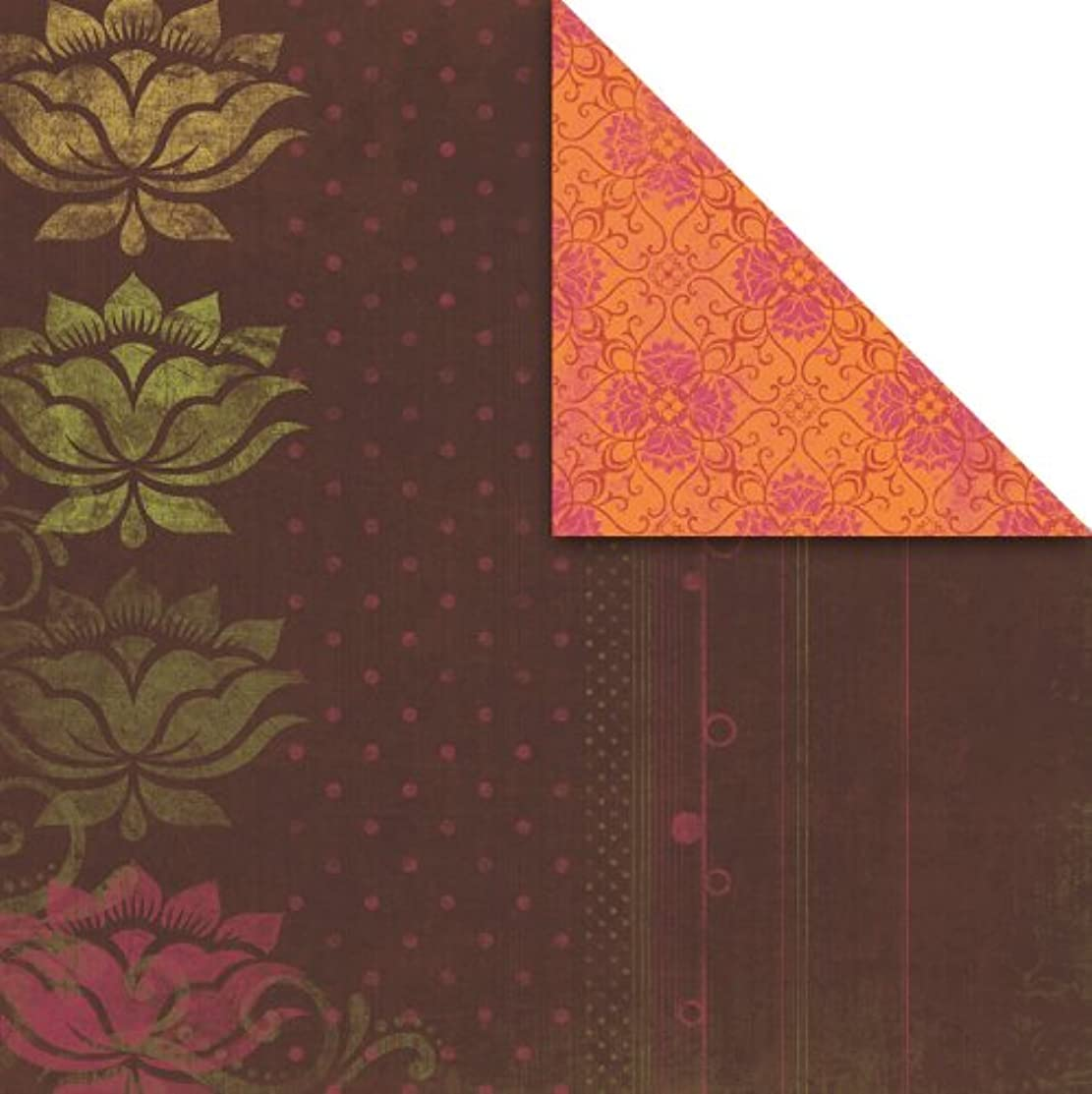 Prima 870072 12 by 12-Inch Urban Cosmos Double Sided Cardstock Paper, Village, 25-Pack