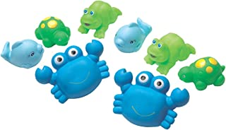 Playgro Bathtime Under The Sea Squirtees, Blue,