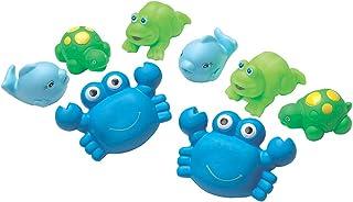 Playgro Bathtime Under The Sea Squirtees, Blue,