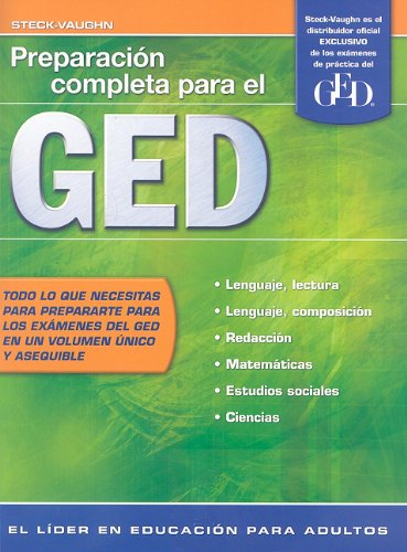 Preparacion Completa Para el GED (Steck-Vaughn GED,...