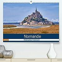 Traumreisen Normandie (Premium, hochwertiger DIN A2 Wandkalender 2022, Kunstdruck in Hochglanz): Normandie - Malerisches Frankreich (Monatskalender, 14 Seiten )