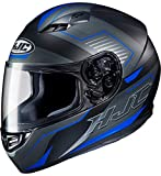 HJC Helmets Casco de moto CS 15 TRION MC2SF, Negro/Azul, XS