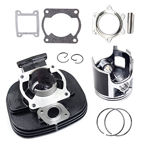ECCPP Replacement for Cylinder Piston Assembly Kit fit 1998-2006 Yamaha Blaster 200 YFS200 Cylinder Piston Ring Gasket Set