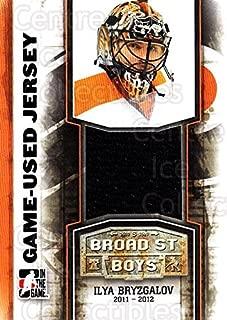 (CI) Ilya Bryzgalov Hockey Card 2011-12 ITG Broad Street Boys Jerseys 10 Ilya Bryzgalov