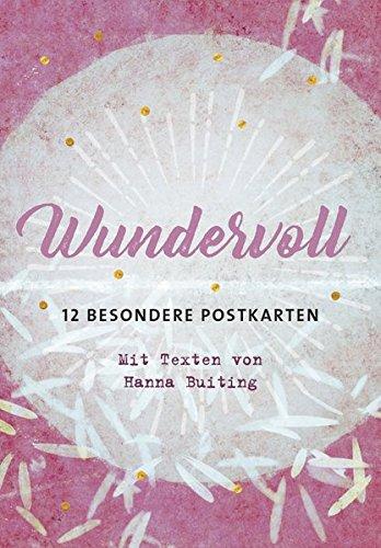 Wundervoll - 12 besondere Postkarten (Postkarten-Sets)