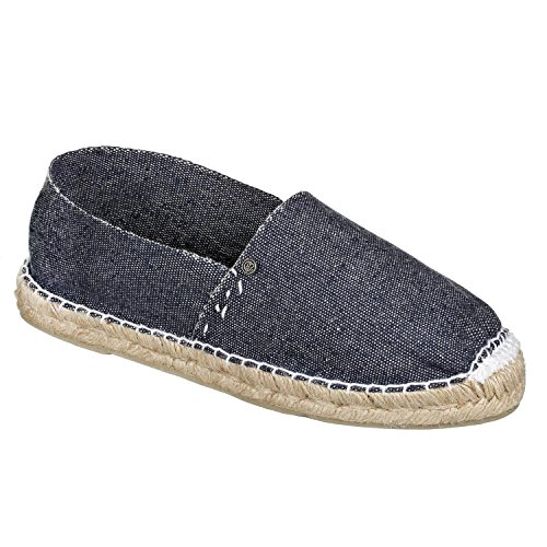 JOE N JOYCE Bilbao Unisex Espadrilles handgefertigte Luxus Schuhe Jeans Größe 43
