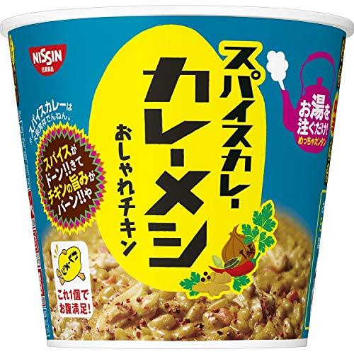 日清 スパイスカレー カレーメシ おしゃれチキン 91g