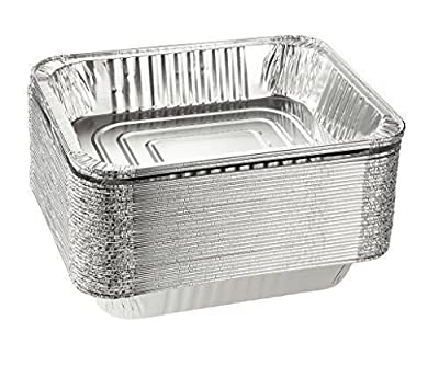 Disposable Aluminum Foil Steam Table Pan Takeout Lasagna Tray