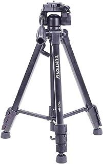 YUNTENG VCT-668 Pro Tripod with Damping Head Fluid Pan for SLR/DSLR Canon Nikon