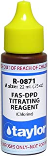 Taylor FAS-DPD Titrating Reagent (Chlorine) .75 oz R-0871-A