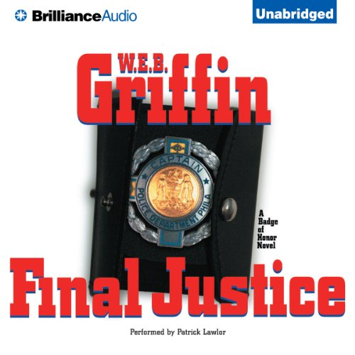 Final Justice audiobook cover art